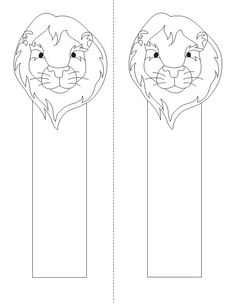 bookmarks to color   Animal bookmarks distributed for students to color at the P.S. 32 ...