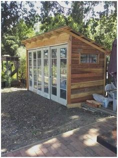 DIY Shed Project - Where to Find Garden & Storage Shed Plans - Overects Diy Storage Shed Plans, Wood Shed Plans, Outdoor Storage Sheds, Outdoor Sheds, Workshop Storage, Storage Ideas, Bike Storage, Barn Plans, Outdoor Gardens