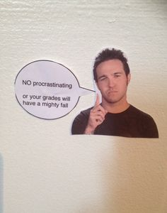 I think I just found the solution to my procrastination problem.