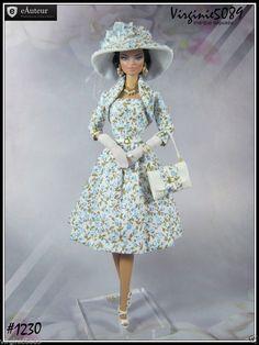 Tenue Outfit Accessoires Pour Fashion Royalty Barbie Silkstone Vintage 1230 | eBay