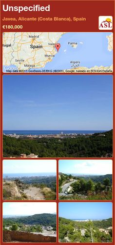 Unspecified for Sale in Land, Moraira, Alicante, Spain - A Spanish Life Murcia, Plots For Sale, Alicante Spain, Town Hall, Pavement, The Prestige, Nice View, Building A House, Maine