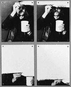Timm Ulrichs *  Erasure of the Self through Painting - 1973/76 (detail)