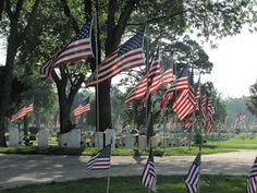"""Many U.S. cities claim to be the """"birthplace of Memorial Day"""" and document their observances of it dating from 1865-1868. In May 1966, Congress passed a resolution recognizing Waterloo, NY as Memorial Day's birthplace. In 2012, the Dept. of Veterans Affairs reported that 2 dozen other cities or towns still claim to be the holiday's primary source!"""