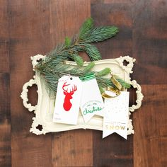 @heidiswapp Minc Christmas coming soon! Run these beautiful holiday products through the Minc Foil Applicator Machine with foil and get custom results in minutes!