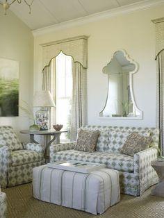 Mirror & window treatments