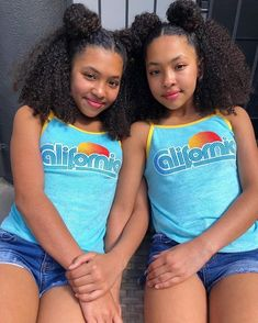 """In A Golden State of Mind"" Welcome to the band! Introducing our new California style terry tank! Cute Black Kids, Black Baby Girls, Beautiful Black Babies, Cute Baby Girl, Black Twins, Cute Little Girl Dresses, Little Girl Models, Cute Little Girls, Teenage Girl Outfits"