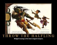 Ironically, I am writing up a halfling crusader right now for a D game...