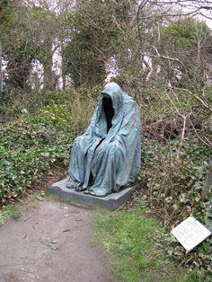 Nazgul guarding the cemetery [1000x1333] - Imgur