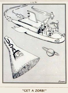 """The Far Side"" by Gary Larson. Space hot rodding while under the influence. ..."