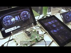 Digital cluster platform by Nexell - YouTube