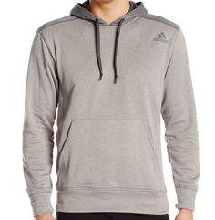 adidas Performance Ultimate Fleece Pullover Hoodie Sweatshirt  Large M63606 #adidas #Hoodie