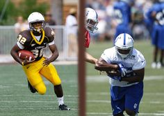 Alvester Alexander Then:  Running Back #32 for the Wyoming Cowboys Now: Running Back #40 for the Indianapolis Colts