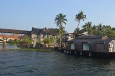Boarding the House boat from Zuri hotel at Kumarakom, Kerala (God's own country), India