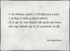 Hemos de encontrarnos un día?! Jose Angel Buesa