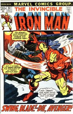 Iron Man #51. #IronMan