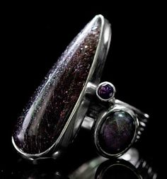 Ring sterling silver and amethyst. www.ximenaesquivel.com