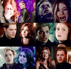 Shadowhunters Series, Shadowhunters The Mortal Instruments, Clary Et Jace, Clary Fray, Shadow Hunters Book, Divergent Funny, Vampire Diaries Funny, Clace, Katherine Mcnamara