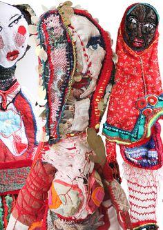 Mona Luison | Art Sculpture Textile (Emmanuelle Loison) | Upcycling » News