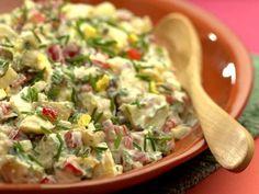 Creamy Potato Salad, lower fat and big flavors!