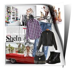 """""""SheIn 3"""" by zenabezimena ❤ liked on Polyvore featuring moda, Free People, Sheinside y topset"""