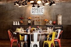 Super cool french restaurant in Singapur