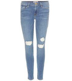 Frame Cropped Skinny Jeans For Spring-Summer 2017