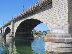 The London Bridge at Lake Havasu, Arizona