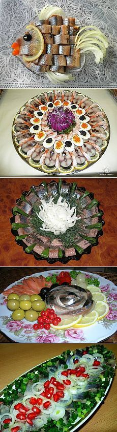 Interesting ideas for serving salted herring for filing . Fruit Decorations, Food Decoration, Appetizer Buffet, Appetizer Recipes, Cute Food, Yummy Food, Plateau Charcuterie, Food Trays, Snacks Für Party