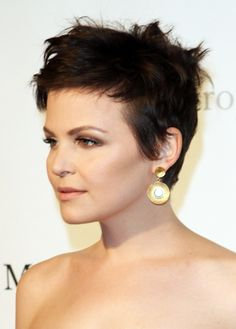Ginnifer Goodwin's short hair.  There's a chance I may have just gone into the bathroom and done this to myself...again.