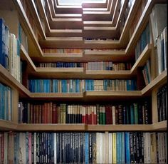This staircase is a novel idea