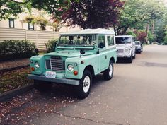 My 1973 Land Rover Series III