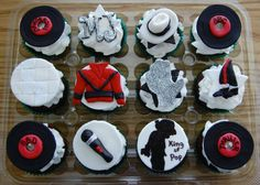 Michael Jackson Cupcakes Topper