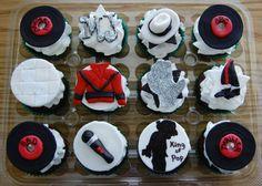 Michael Jackson Cupcakes Topper