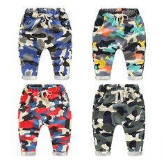 >> Click to Buy << Kz-8925 Baby Camouflage Trousers 2017 Spring Clothes New Pattern Catamite Children's Garment Children Leisure Time Haren Pants #Affiliate
