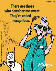 Maxine on mosquitoes