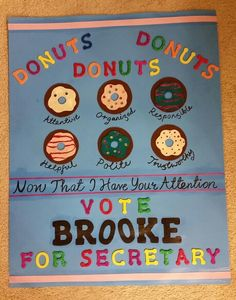 School council secretary poster More Student Council President Speech, Slogans For Student Council, Student Council Campaign, School Campaign Ideas, School Campaign Posters, School Posters, Presidential Posters, Campain Posters, School Slogans