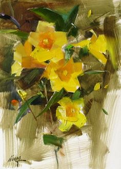 Memory of the Spring, painting by artist Qiang Huang