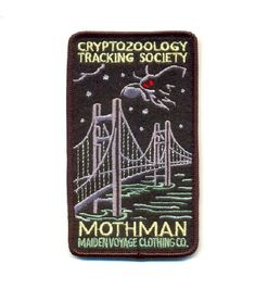 Were now offering our popular Cryptozoology Tracking Society designs in colorful sew-on patches! These patches are reminiscent of the old Pin And Patches, Sew On Patches, Iron On Patches, Punk Patches, The Mothman Prophecies, National Park Patches, Merit Badge, Up Girl, Needle And Thread