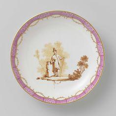 Tea service, Manufactuur Oud-Loosdrecht, c. 1774 - c. 1778