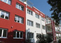 HMKW Campus Köln: Das Hochschulgebäude.