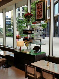Granger & Co Kings Cross Granger And Co, Balcony, Liquor Cabinet, Restaurants, Dining Room, Tableware, Furniture, Home Decor, Dinnerware