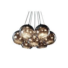 View the Artcraft Lighting AC107 Contemporary / Modern 7 Light Down Lighting Chandelier from the Nebula Collection at LightingDirect.com.
