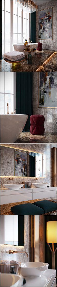 Bathroom Trends 2017   2018 u2013 Designs, Colors and Materials 123 - küche retro stil