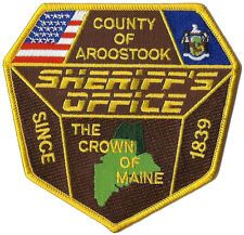 County Of Aroostook Sheriff's Office Shoulder Patch