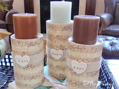 DIY by Design: DIY Candle Holders