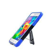 SAMSUNG GALAXY GRAND PRIME/G530 BLACK/BLUE 3D TRANSFORMA HARD PLASTIC CASE STAND