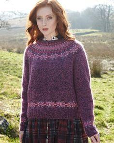 Circular Yoke Sweater