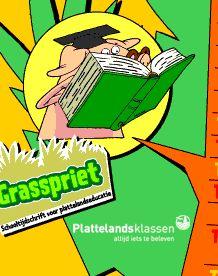 Grasspriet PDF bestanden met info en werkbladen over verschillende thema's van de natuur.