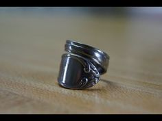 How to: spoon ring band style DIY - YouTube