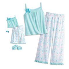 Grace's Pajamas for Dolls & Girls | graceworld | American Girl